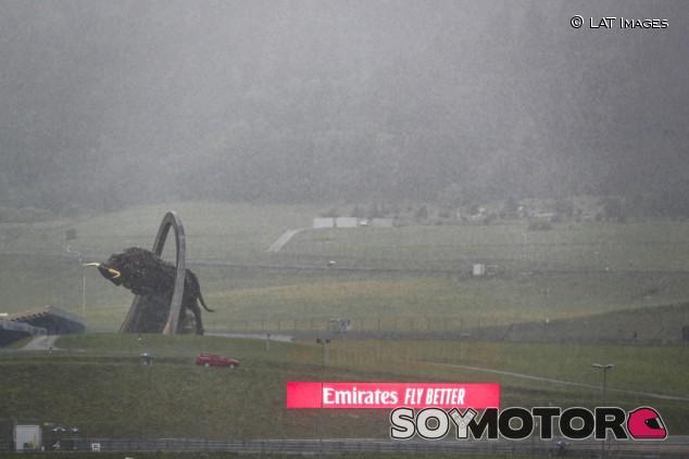 Los Libres 3 del GP de Estiria, cancelados por la lluvia - SoyMotor.com