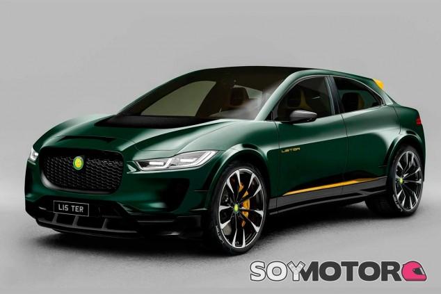 Lister SUV-E Concept - SoyMotor.com