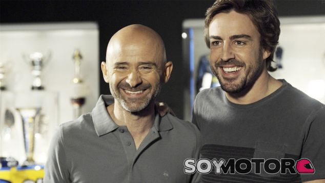 Antonio Lobato y Fernando Alonso - LAF1