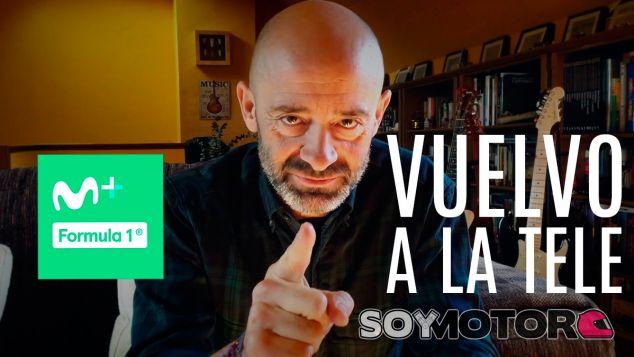 Antonio Lobato ficha por Movistar F1 y narrará la temporada 2018 - SoyMotor.com