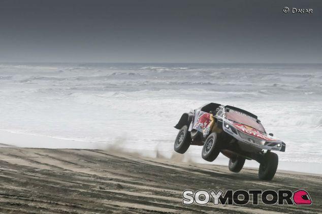 Sébastian Loeb durante la etapa 4 del Dakar 2018 - SoyMotor.com