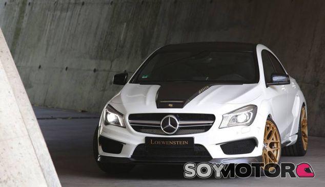 Loewenstein da una imagen mucho má radical al Mercedes CLA 45 AMG - SoyMotor