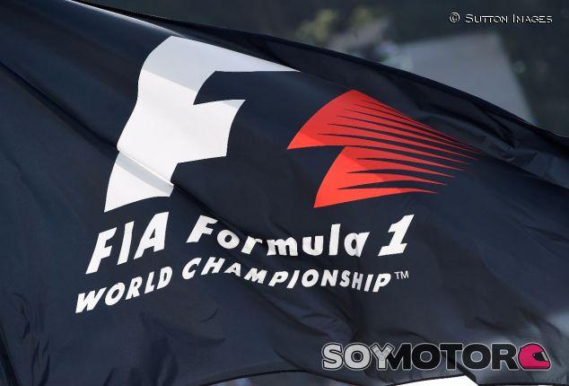 Logo oficial –actual– de la Fórmula 1 – SoyMotor.com