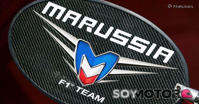Piruleta del equipo Marussia