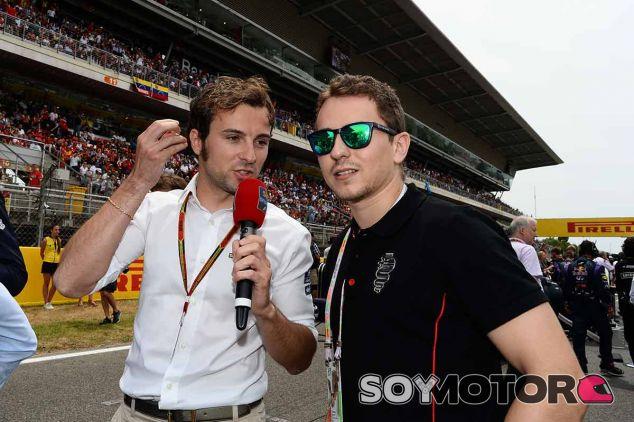Lorenzo es un habitual en el paddock cuando la F1 disputa el GP de España - LaF1