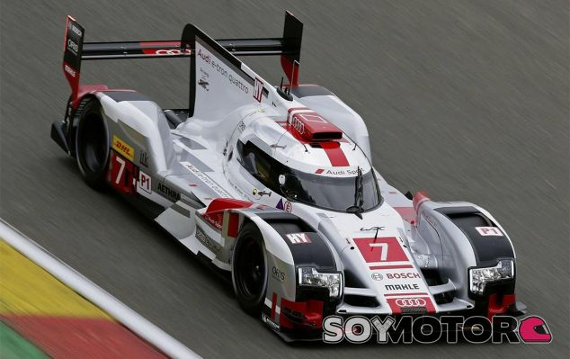 El Audi de Lotterer, Fässler y Tréluyer en Silverstone - LaF1