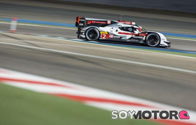 El Audi R18 de André Lotterer durante las 6 horas de Baréin - LaF1