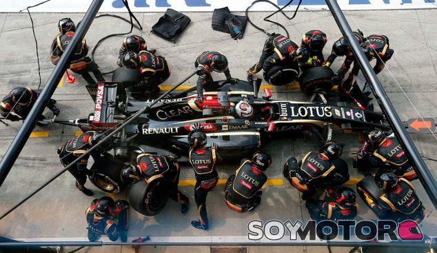 Grandes cambios en el coche de Lotus para 2015 - LaF1.es