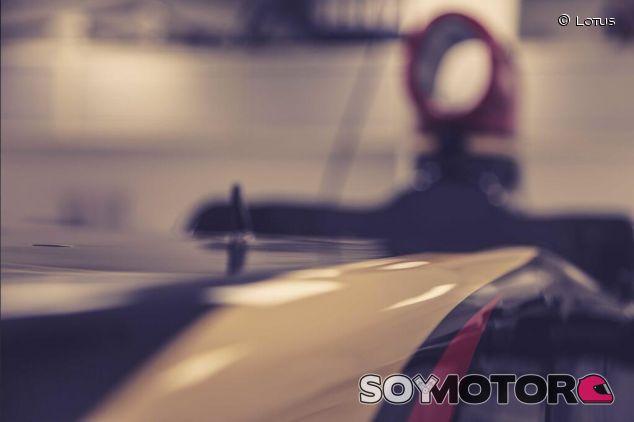Detalle del Lotus 22 difundido por el equipo en las redes sociales - LaF1