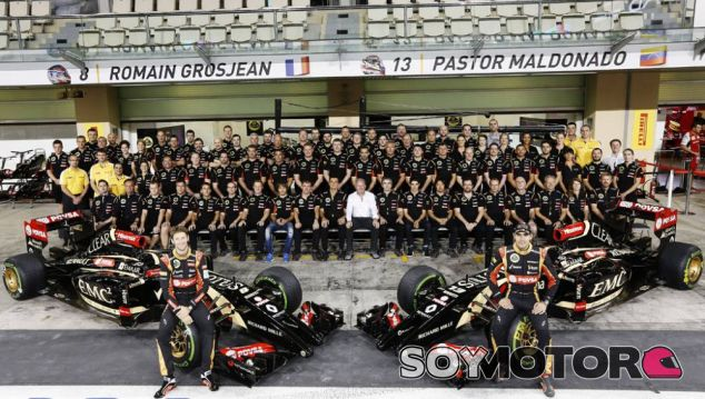 Lotus F1 Team, GP Abu Dabi 2014 - LaF1.es