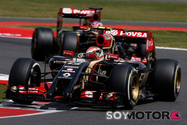 Pastor Maldonado y Romain Grosjean en Gran Bretaña - LaF1