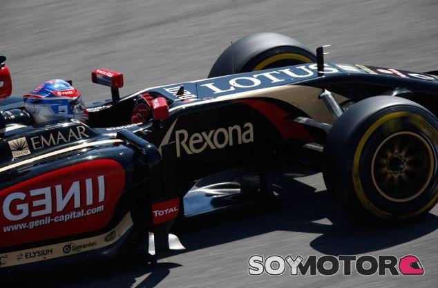 Romain Grosjean en los test de Baréin - LaF1