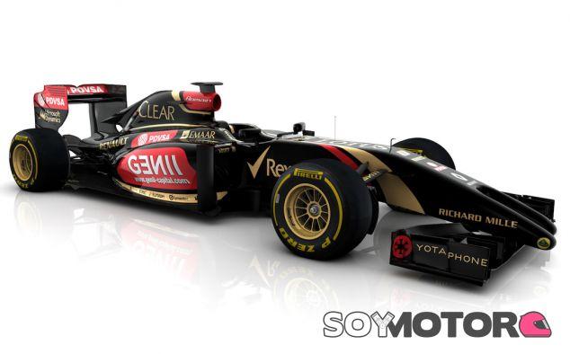 Primera imagen del Lotus E22