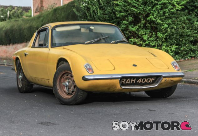 Lotus Elan Plus 2 de Graham Hill - LaF1