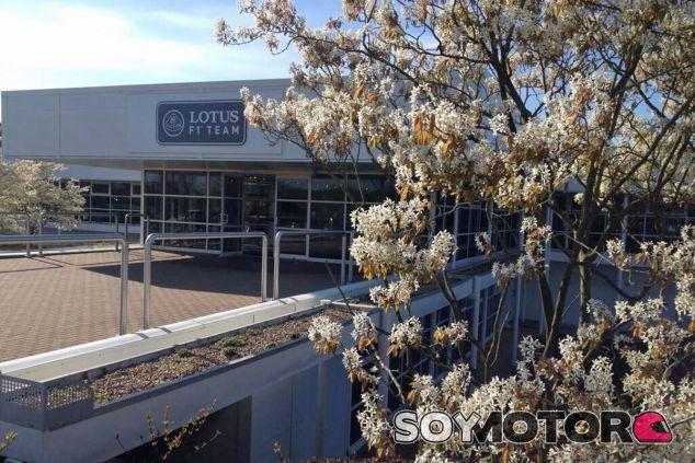 Haas visitará la fábrica de Lotus