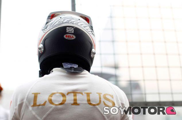 Kimi Räikkönen en la parrilla de la India - LaF1