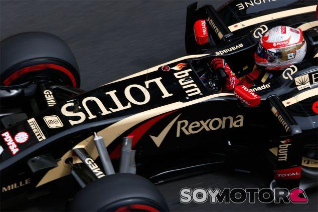 Romain Grosjean en el Gran Premio de Mónaco - LaF1