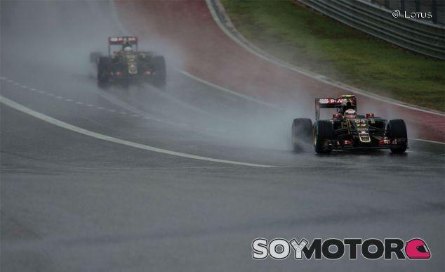 Pastor Maldonado y Romain Grosjean en Estados Unidos - LaF1
