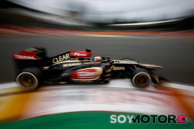Kimi Räikkönen en Spa-Francorchamps con su Lotus E21 - LaF1