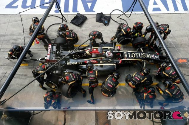 Romain Grosjean en Italia - LaF1