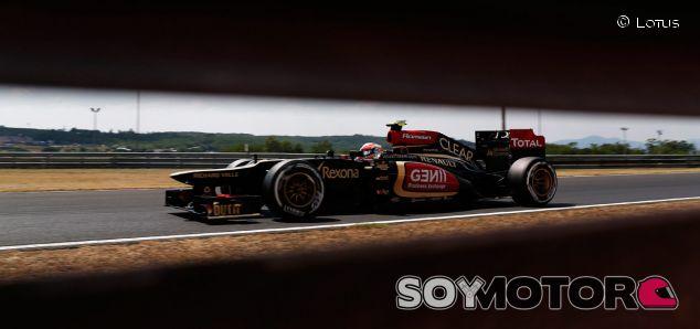 Lotus E21 en el GP de Hungría
