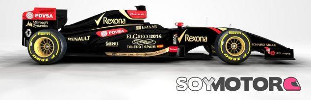 Publicidad de El Greco en el E22 de Romain Grosjean - LaF1