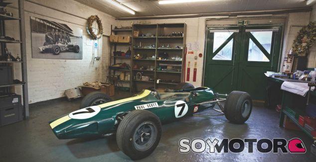 A restauración el Lotus de Jim Clark - SoyMotor.com