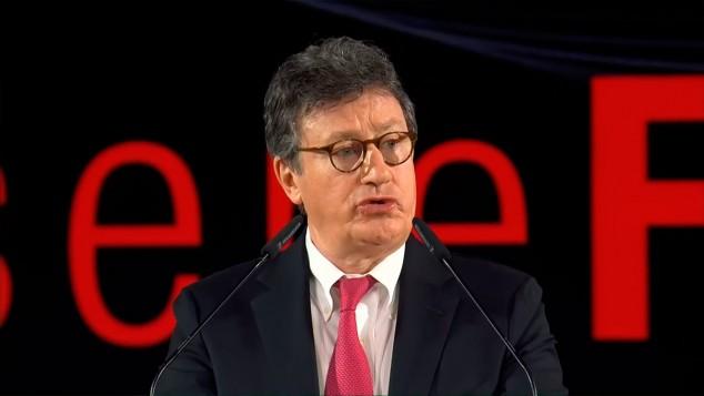 Louis Camilleri en la presentación de Ferrari - SoyMotor