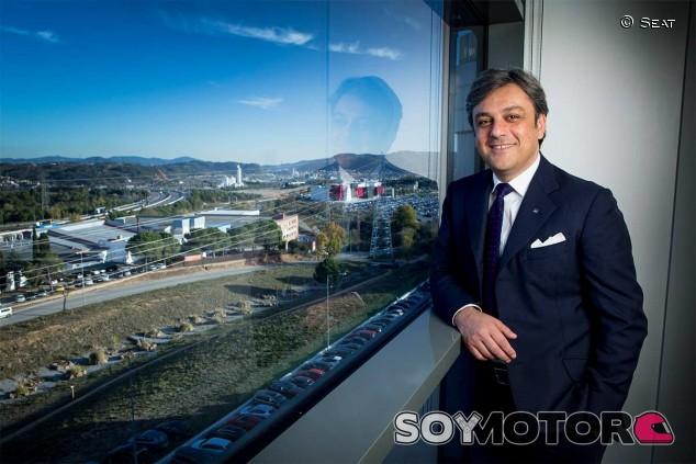 Luca de Meo en una imagen de archivo - SoyMotor.com