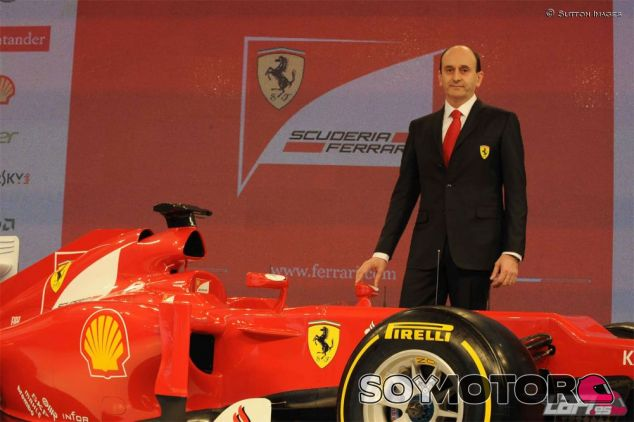 Luca Marmorini en una imagen de archivo de 2012 - LaF1