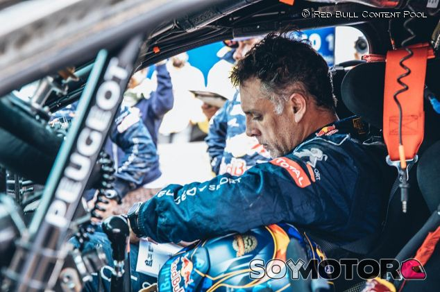 Lucas Cruz en el Rally Dakar - SoyMotor