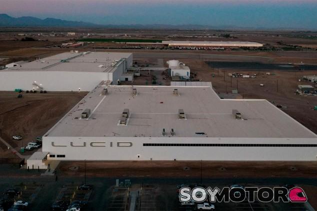 La primera fábrica de Lucid Motors ya es una realidad