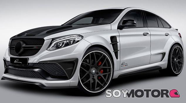 Lumma Design presenta su visión del Mercedes GLE Coupé