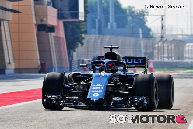 Primer test de Lundgaard con un F1: prueba el RS18 en Baréin - SoYMotor.com