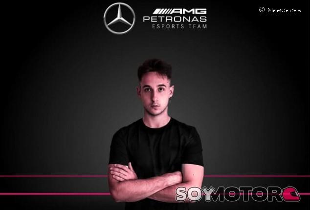 F1 Esports: Dani Moreno ficha por Mercedes para 2021 - SoyMotor.com
