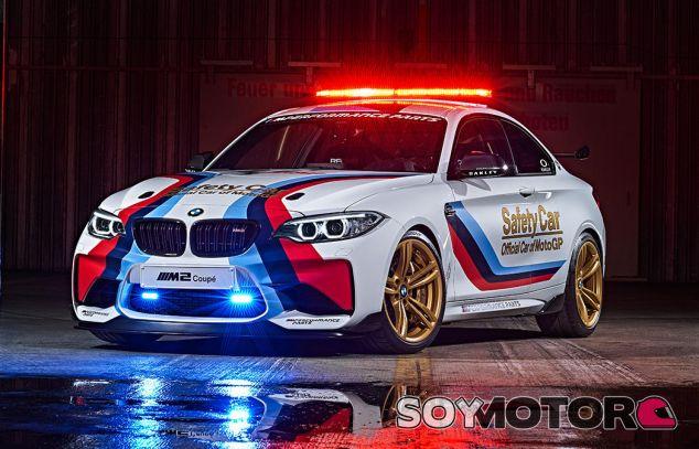 bmw m2 safety car motogp -soymotor