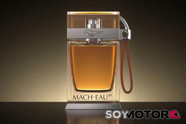 Ford Mach-Eau: la colonia que te hace oler a gasolina existe - SoyMotor.com