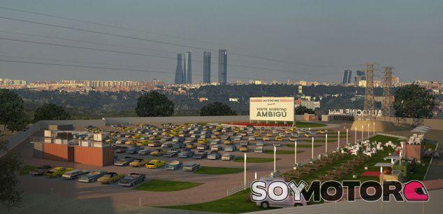 Madrid abre su primer autocine: ¡el más grande de España! - SoyMotor.com