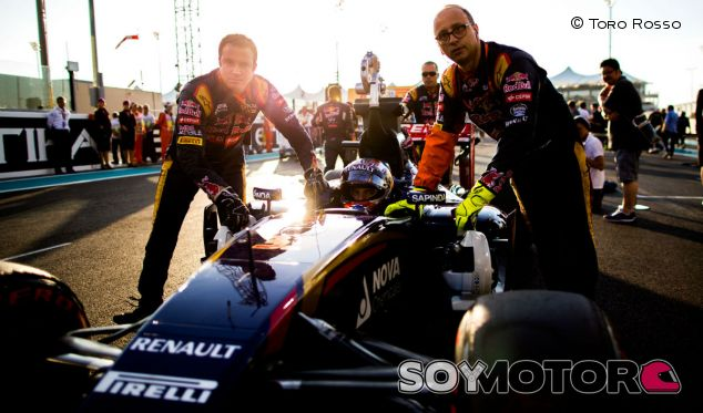 Max Verstappen en el Gran Premio de Abu Dabi - LaF1