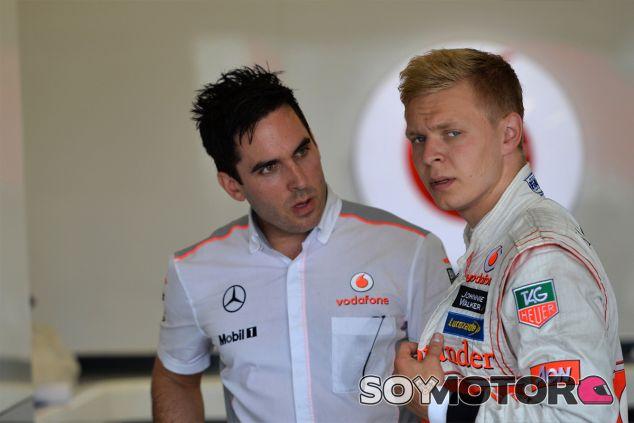 Kevin Magnussen en los test de jóvenes pilotos - LaF1