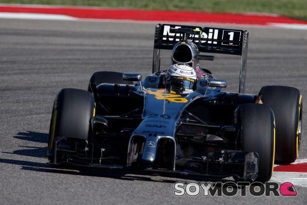 Kevin Magnussen en el Circuit of the Americas - LaF1