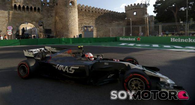 Kevin Magnussen en el GP de Azerbaiyán 2017 - SoyMotor.com