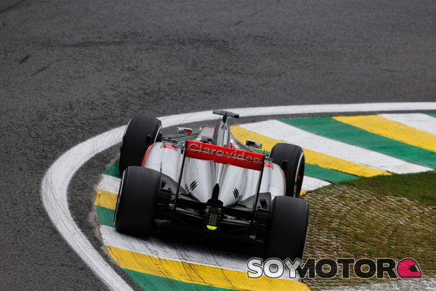 Jenson Button en el pasado Gran Premio de Brasil - LaF1