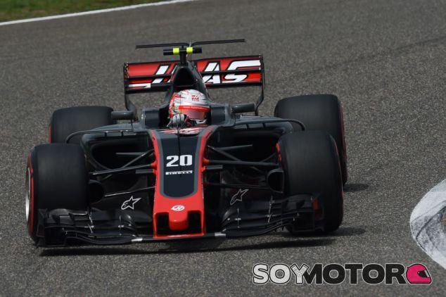 Magnussen puntuó en China - SoyMotor