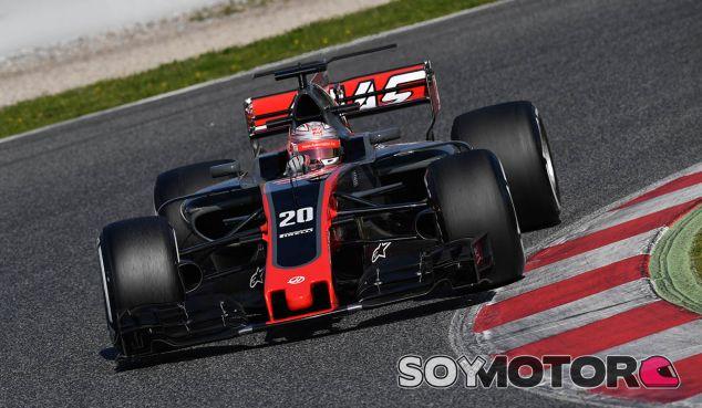 Kevin Magnussen en Barcelona - SoyMotor