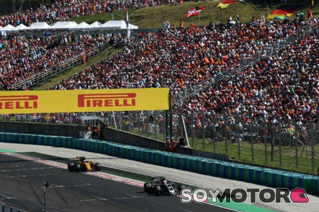 Haas en el GP de Hungría F1 2017: Domingo