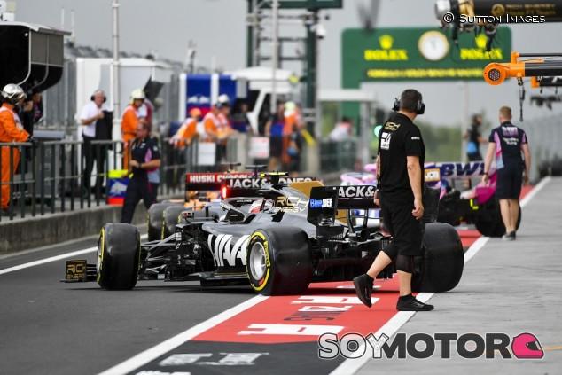 Haas en el GP de Hungría F1 2019: Viernes - SoyMotor.com