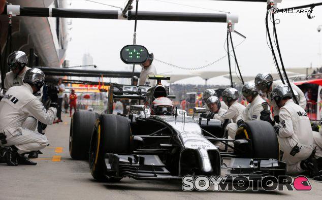 Kevin Magnussen en el Gran Premio de China - LaF