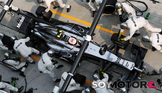 Kevin Magnussen durante el Gran Premio de Malasia - LaF1