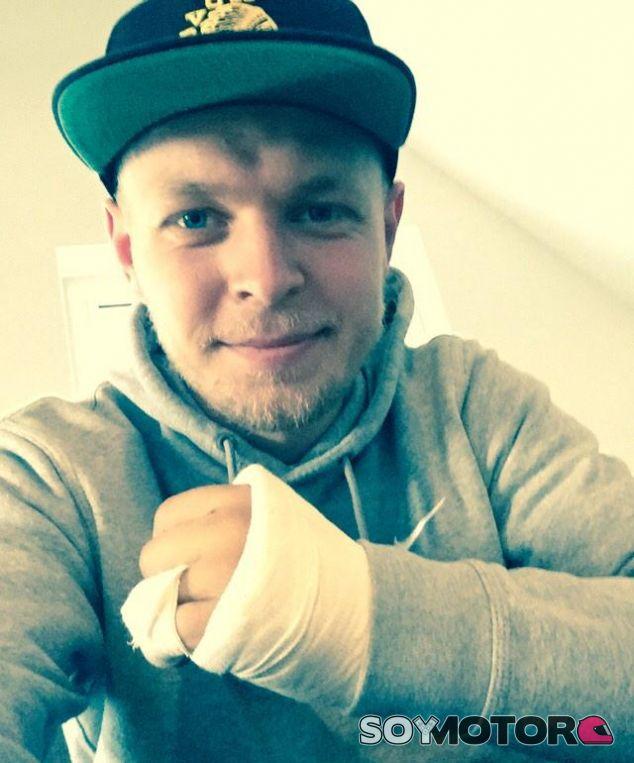 La fotografía que Magnussen ha compartido a través de las redes sociales - LaF1